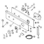 Maytag LAT9604AAL control panel diagram