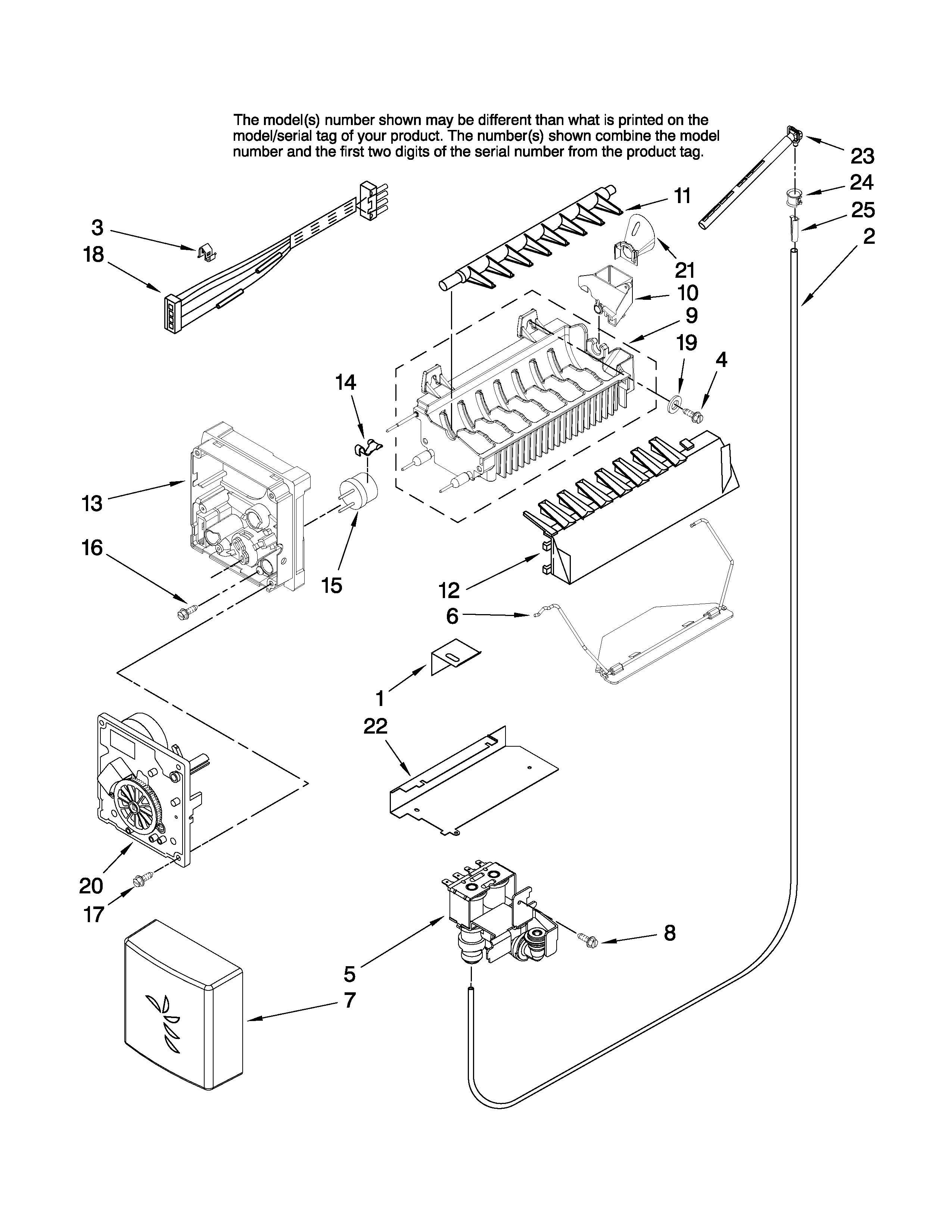 Jenn-Air  Refrigerator   Parts