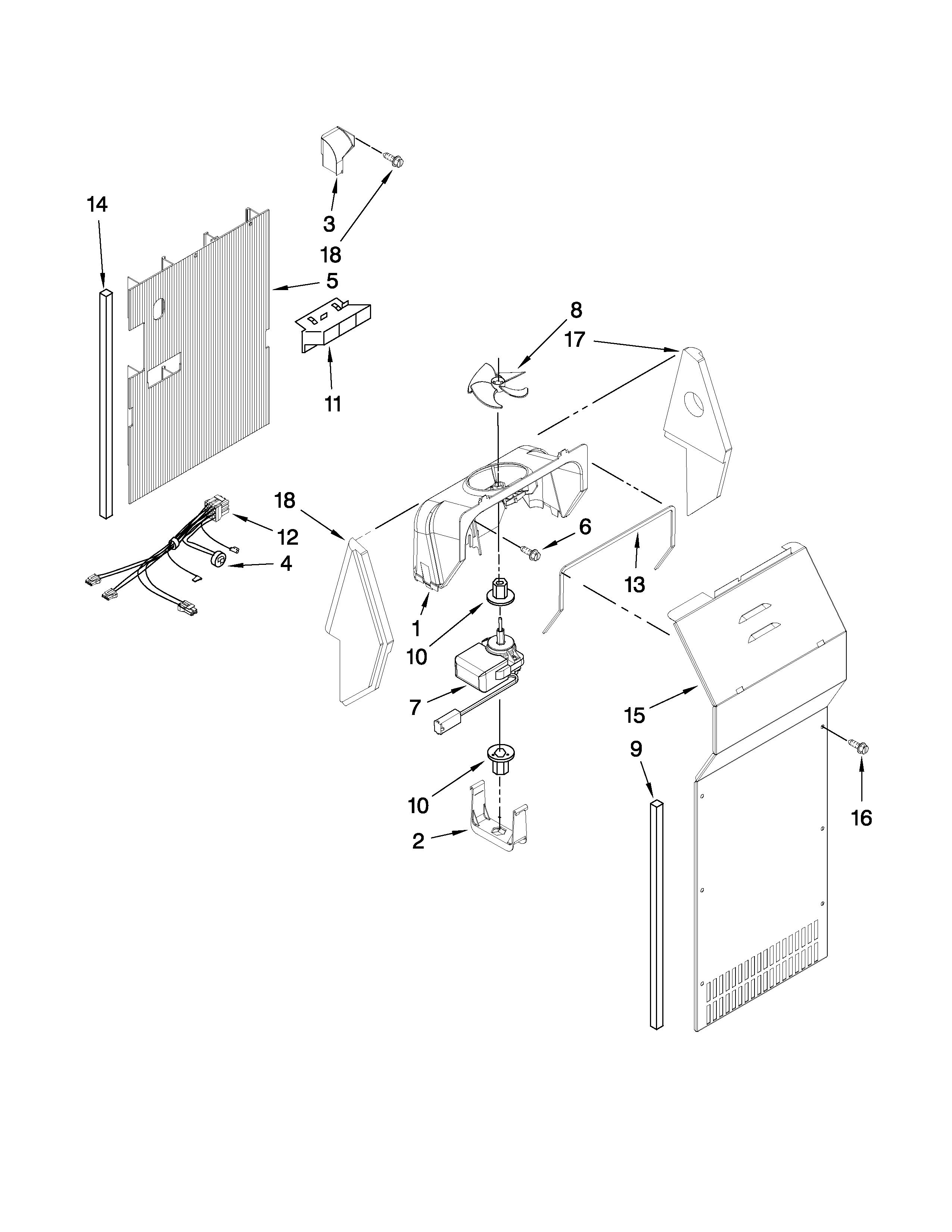 Air Flow Parts Diagram  U0026 Parts List For Model Ed5vhexvq01