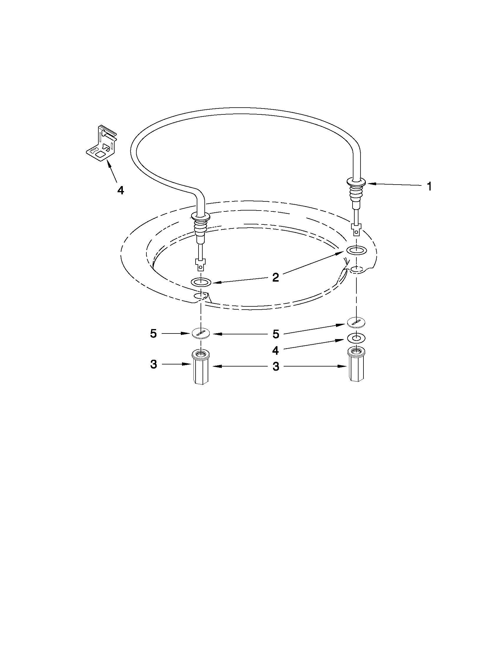Whirlpool WDF730PAYB1 heater parts diagram