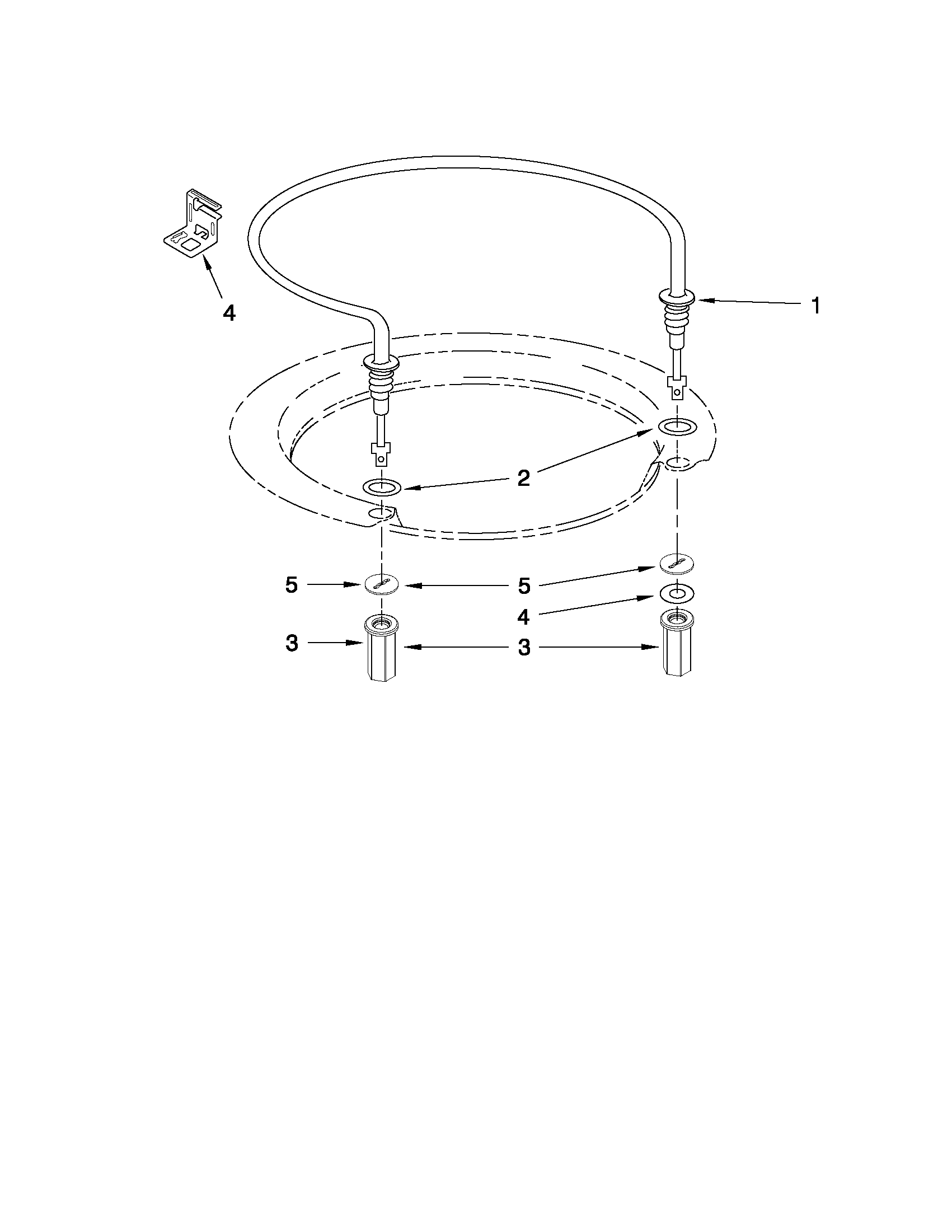 Whirlpool WDT710PAYM3 heater parts diagram