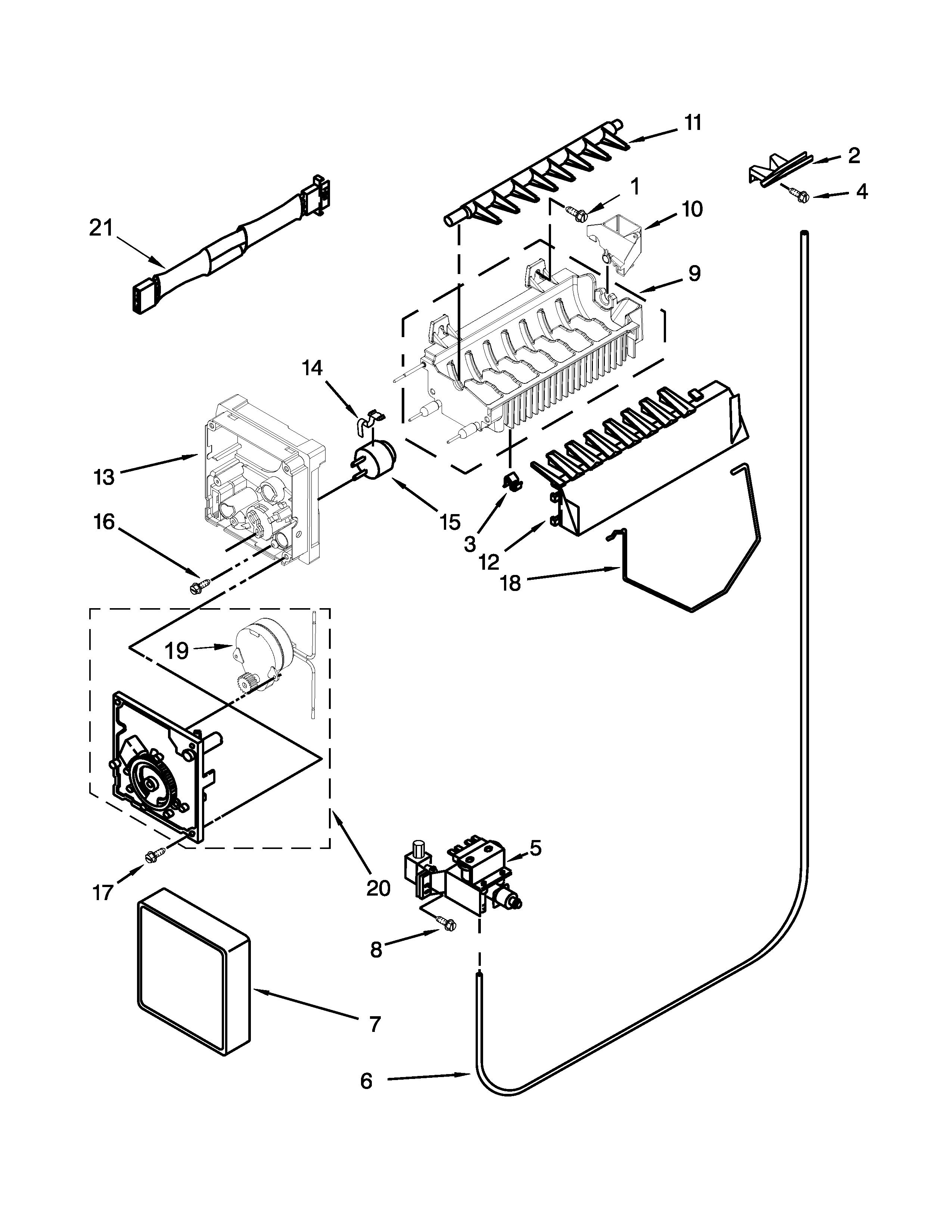 Maytag  Refrigerator  Ice maker parts