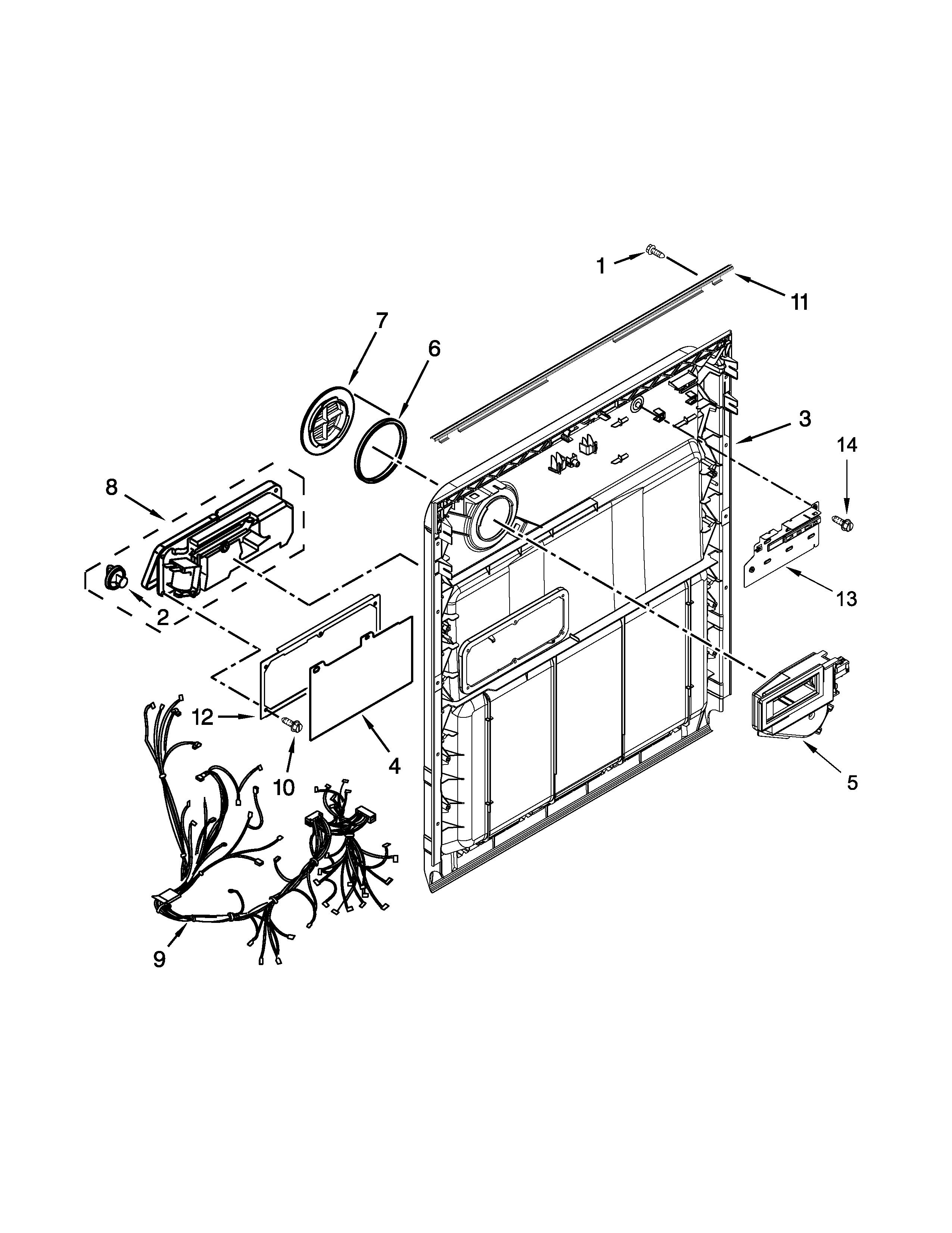 Looking for Whirlpool model WDT720PADM1 dishwasher repair ... on