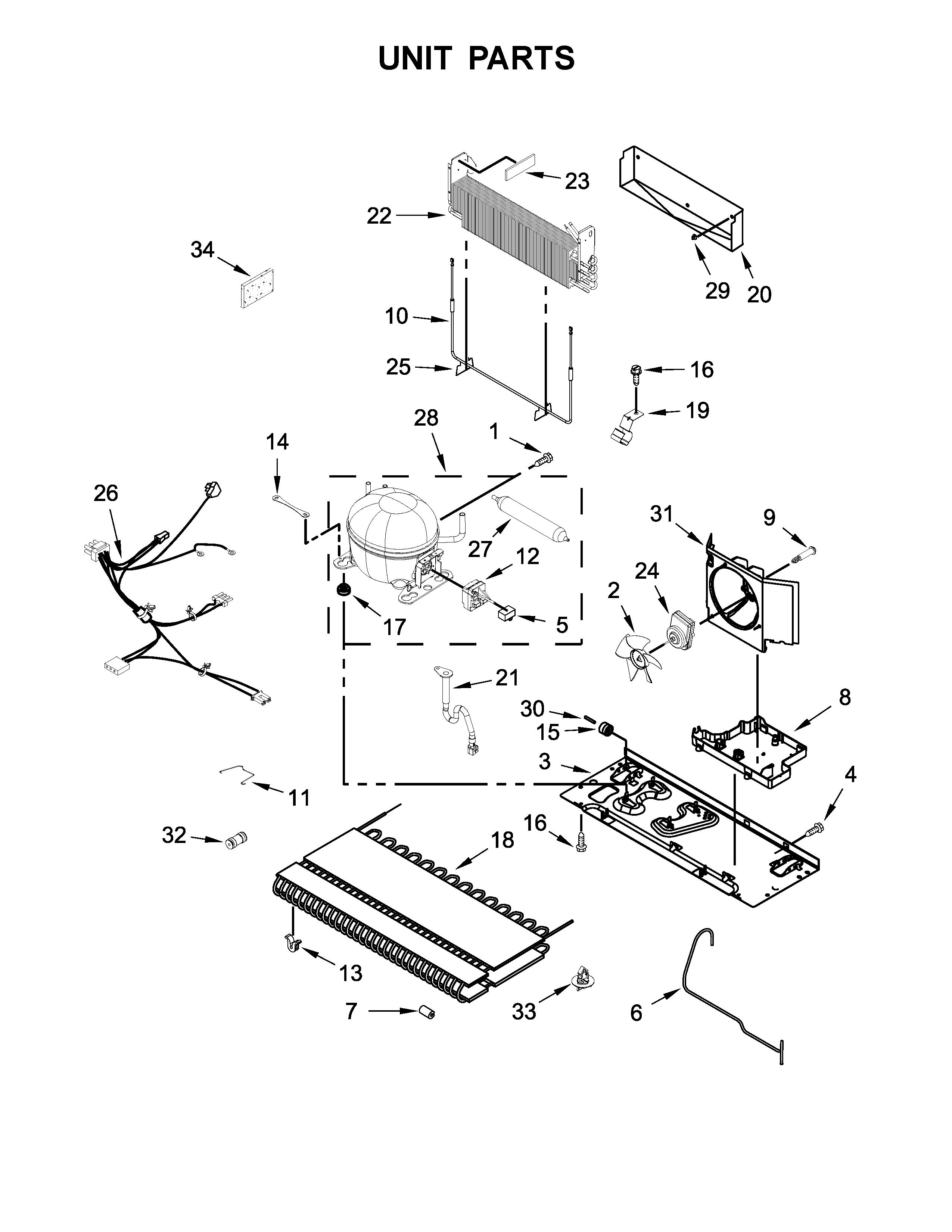 Ikea  Refrigerator   Parts