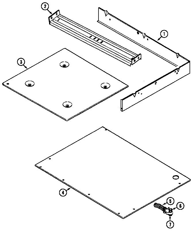 Jenn-Air  Electric Range  Burner box