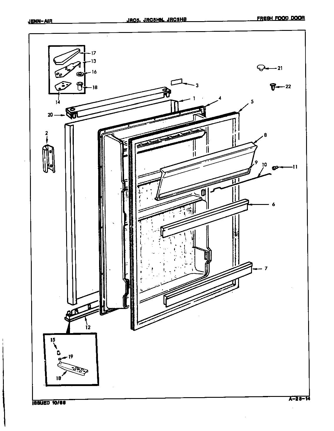 Jenn-Air  Jenn-Air Refrigeration  Fresh food door