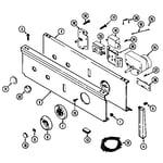 Maytag LDE8624ADE control panel (lde8624ace) (lde8624acl) (lde8624ade) (ldg8624aae) (ldg8624aal) diagram