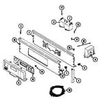 Maytag LDG9904AAM control panel (lde9904acm & ldg9904aam) (lde9904acm) (ldg9904aam) diagram