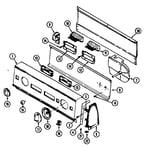 Magic Chef W208KV control panel (w208kv) (w208kv) diagram