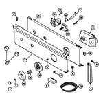 Maytag LAT4915AAE control panel diagram