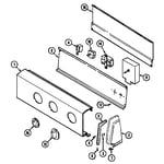 Norge DEP224V control panel diagram