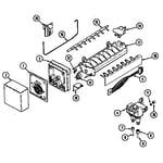 Maytag MSD2754ARW ice maker diagram