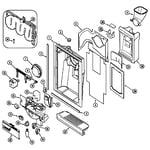 Maytag PSD2350DRQ fountain diagram