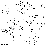 GE JT5500SF3SS control panel diagram
