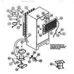 Gibson GTN175CH2 cooling system diagram