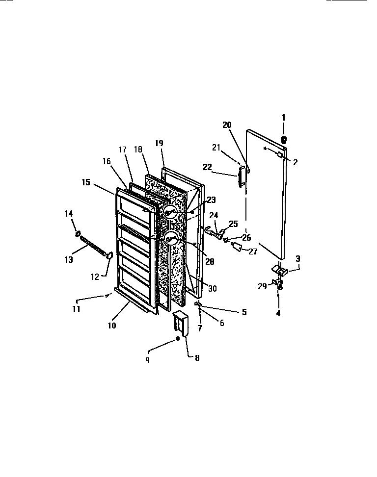 Kelvinator  Upright Freezer - K1700-76  Door