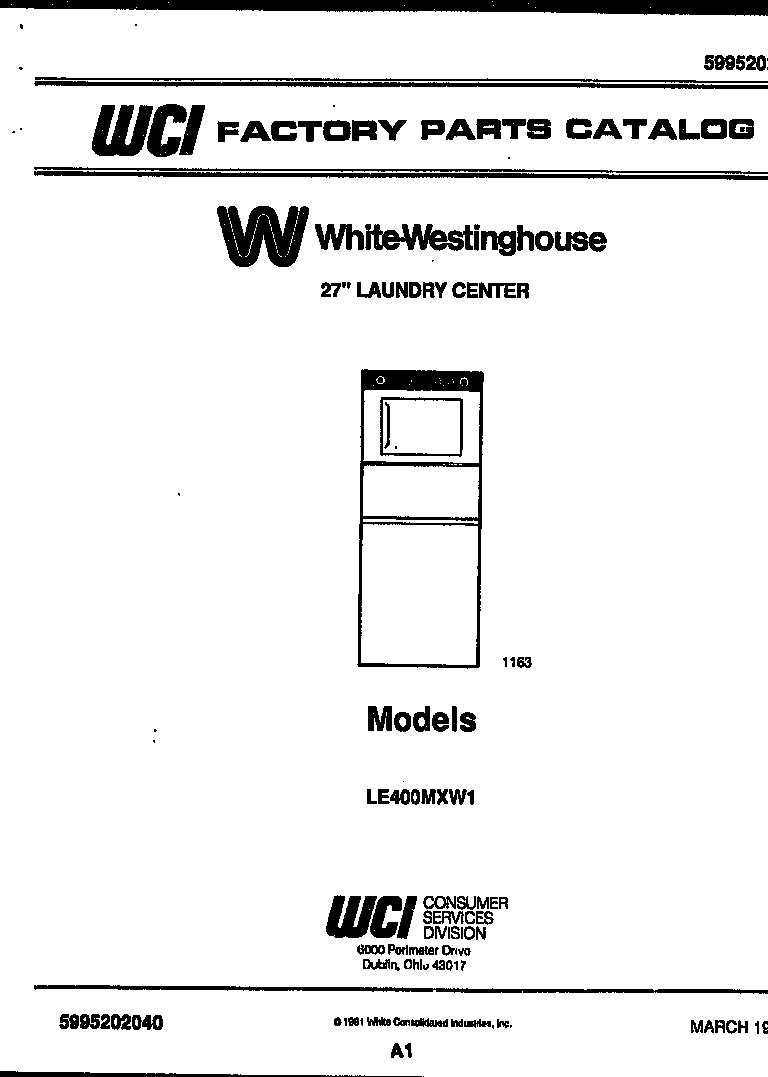 White-Westinghouse  27