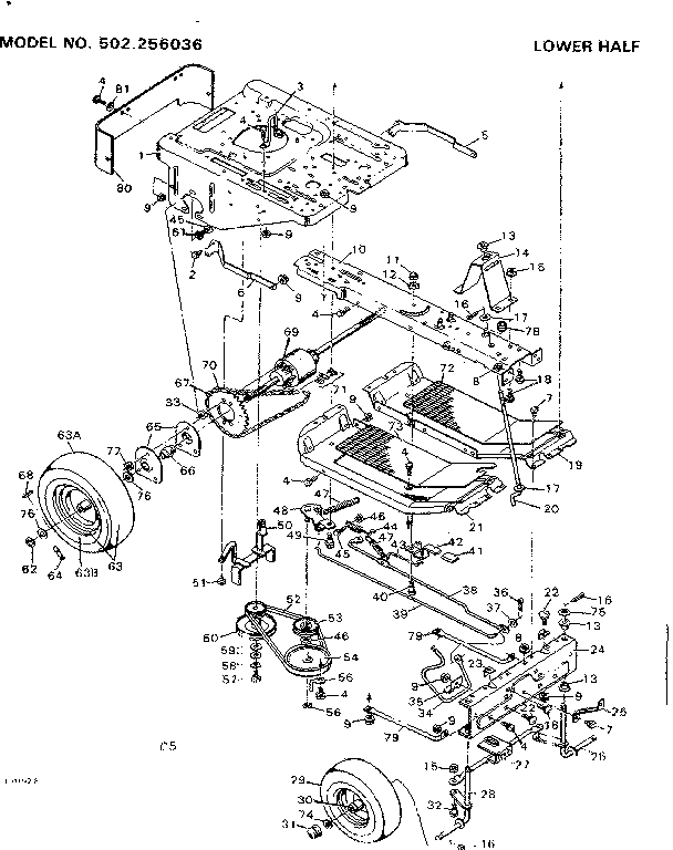 00009608 00003 craftsman wiring diagram parts model 502256036 sears partsdirect  at gsmx.co