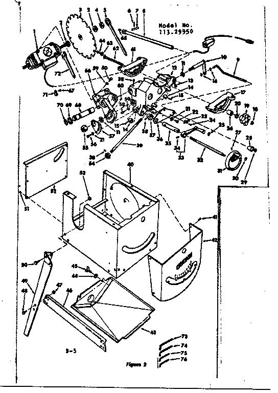 Craftsman Craftsman 12 In  Motorized Circular Saw Parts