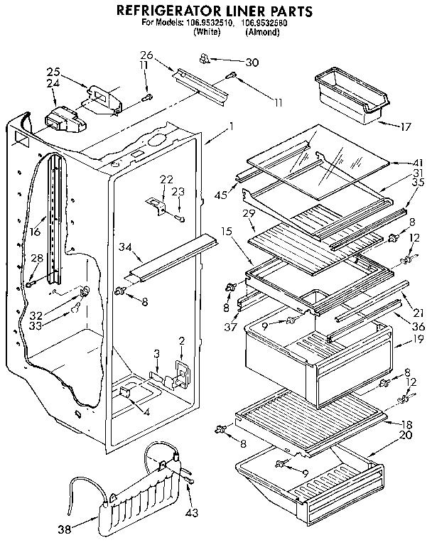 Kenmore Refrigerator Diagram