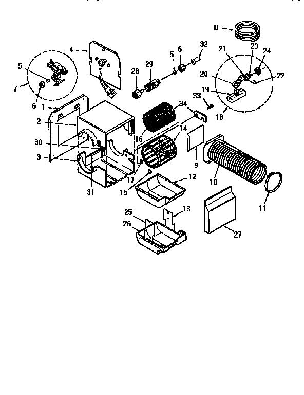 Kenmore Model 303936613 Humidifier Genuine Parts