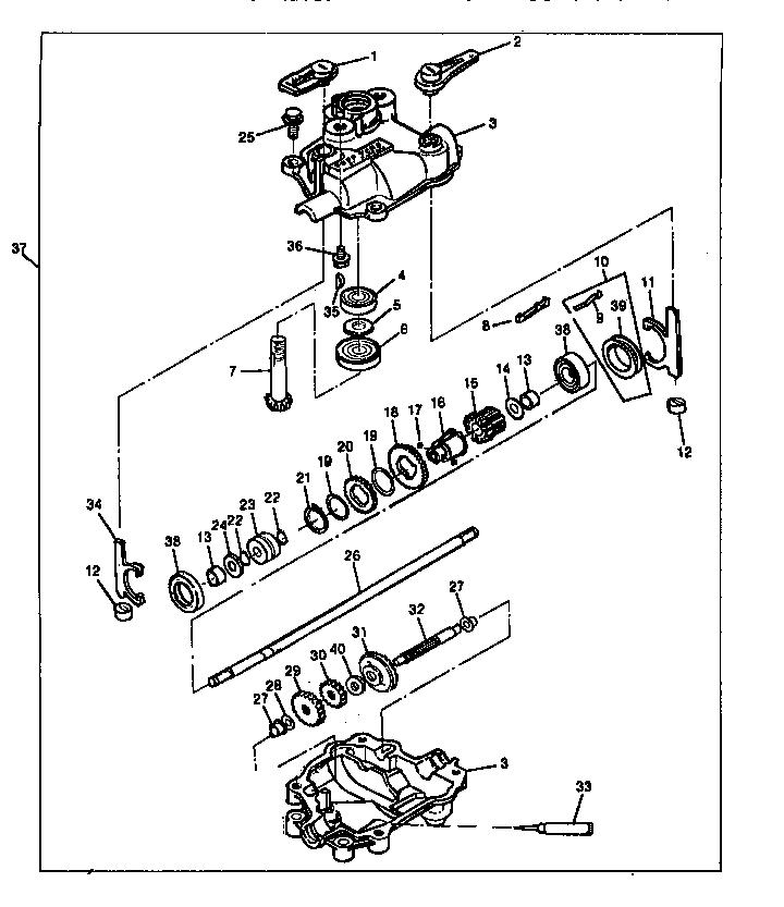 Sabre Walk Behind Mower Parts