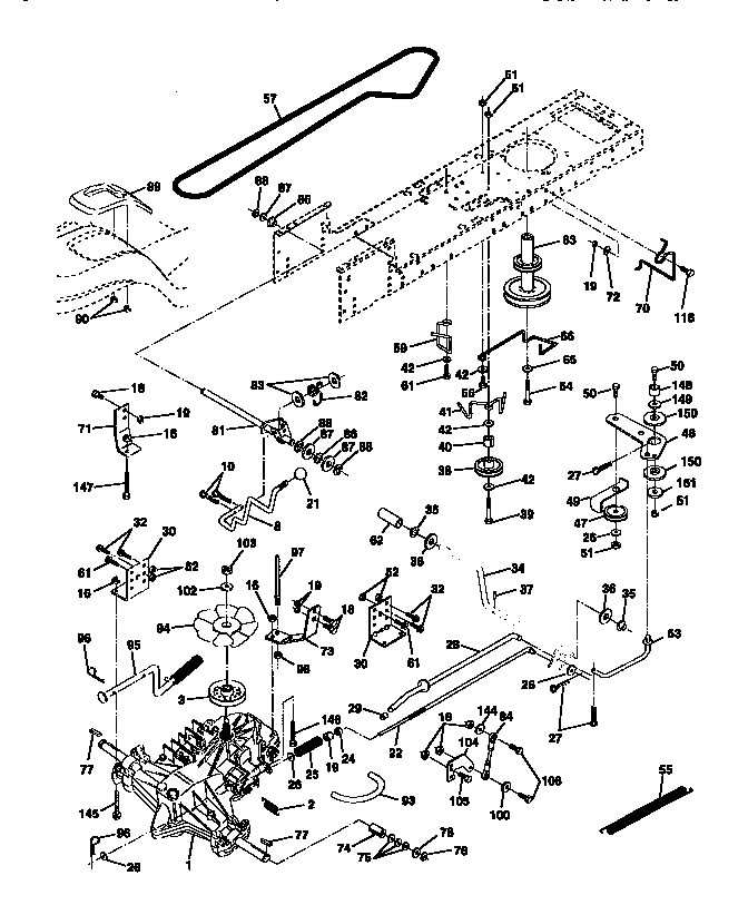 CRAFTSMAN Lawn, Tractor Ground Drive parts