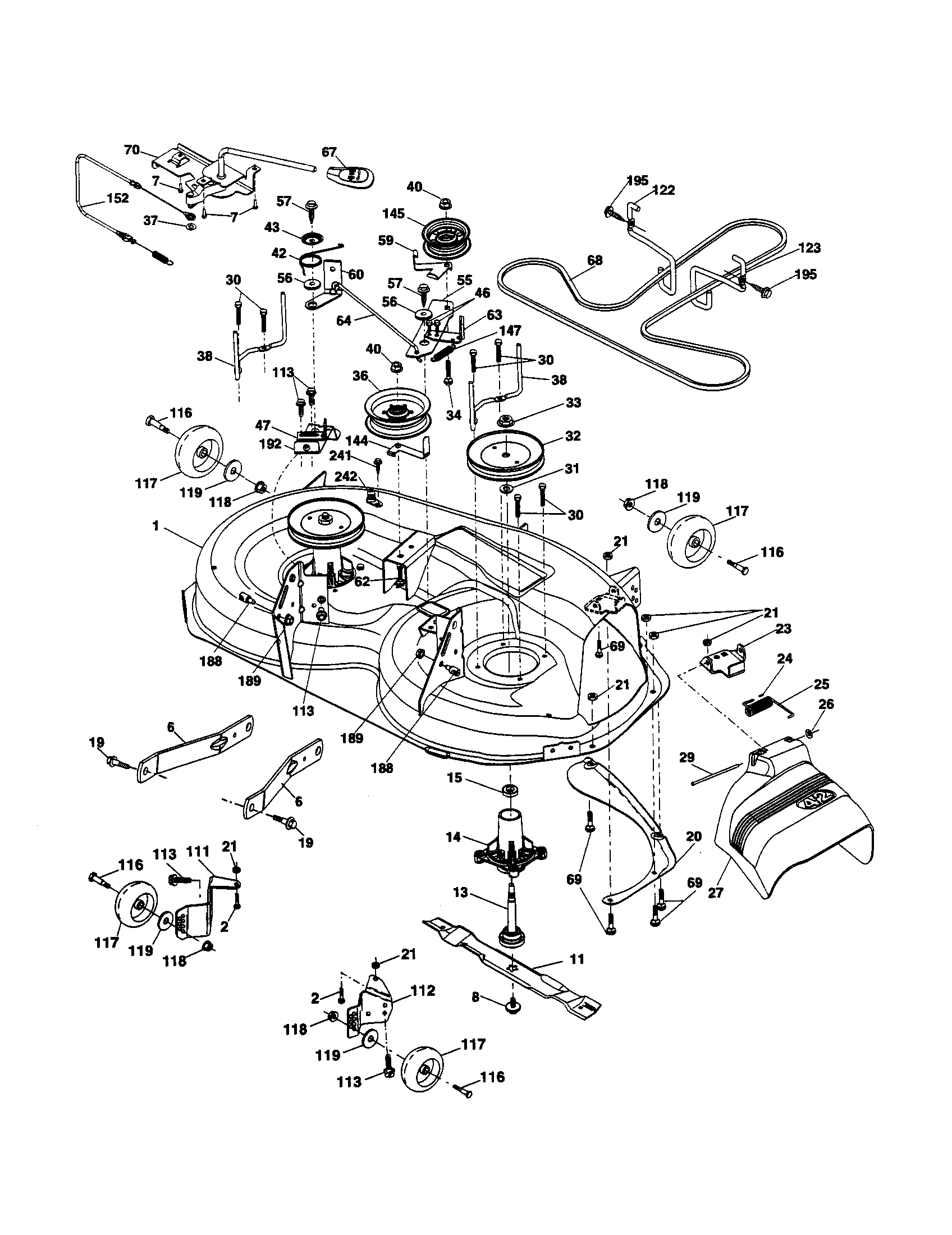 Engine Drive Plate