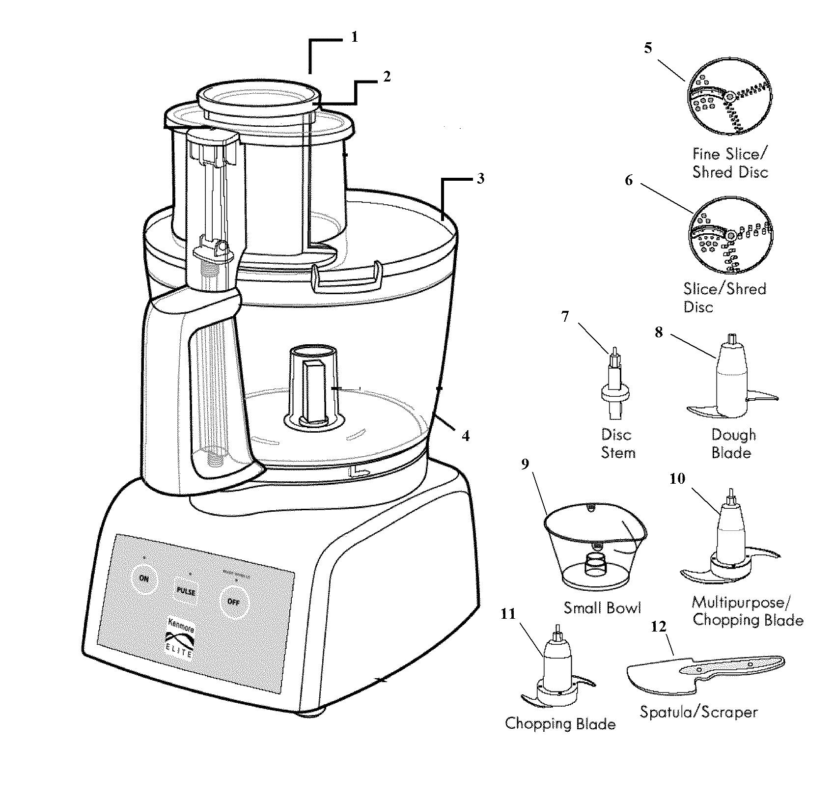 braun combimax 750 food processor manual