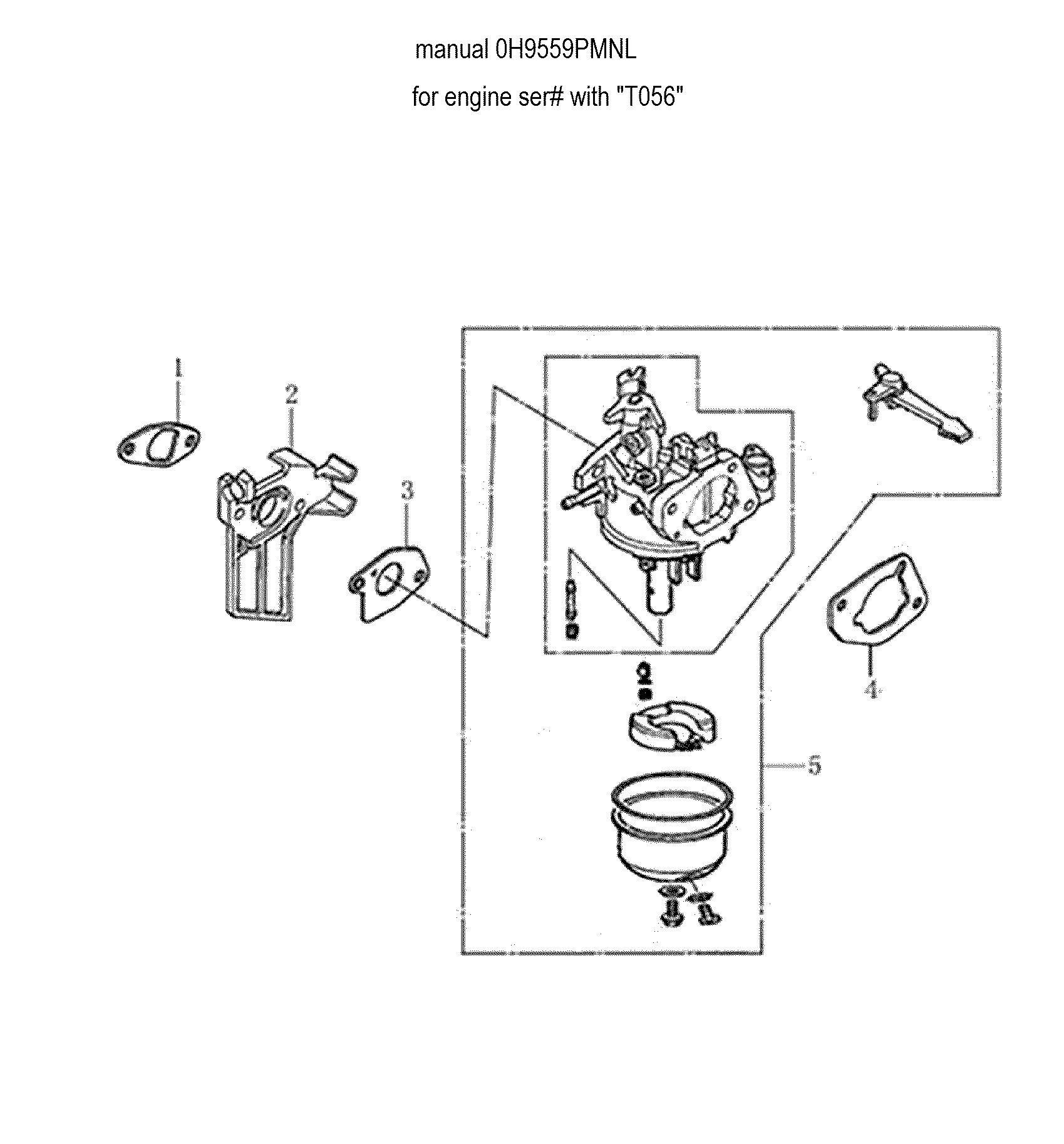 generac power washer parts