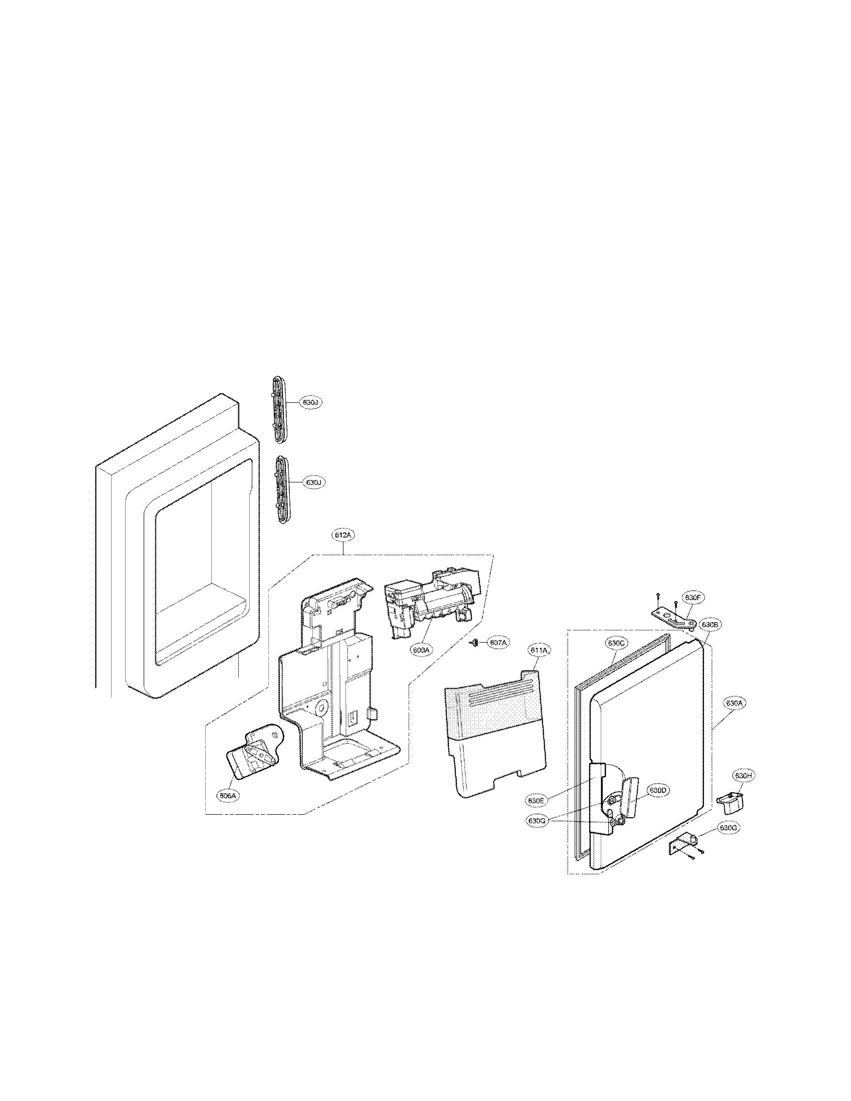 lg refrigerator diagrams