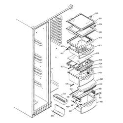 ge side by side refrigerator wiring diagram ge ge profile side by refrigerator parts diagram ge image on ge side by side refrigerator