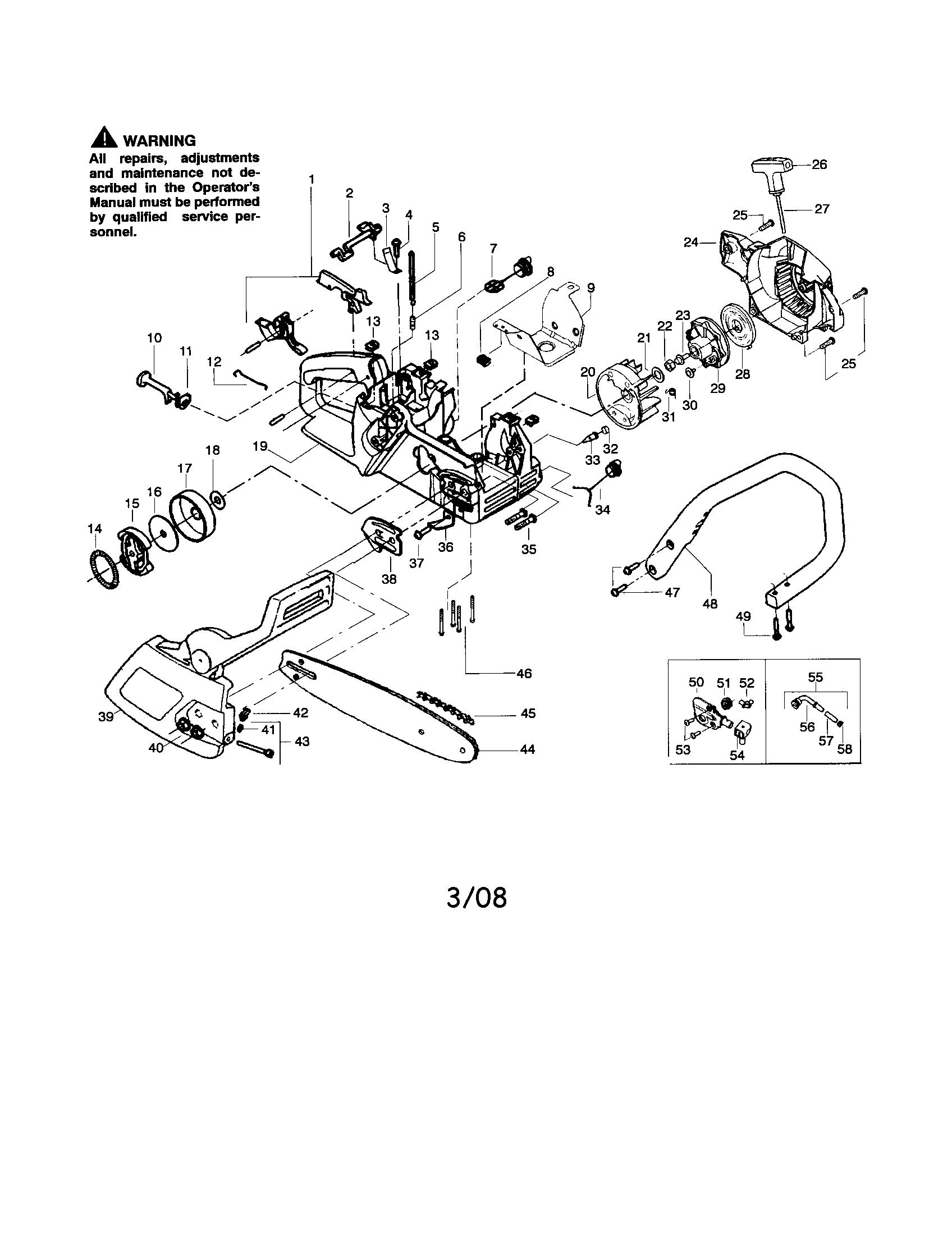 32 Poulan Wild Thing Parts Diagram