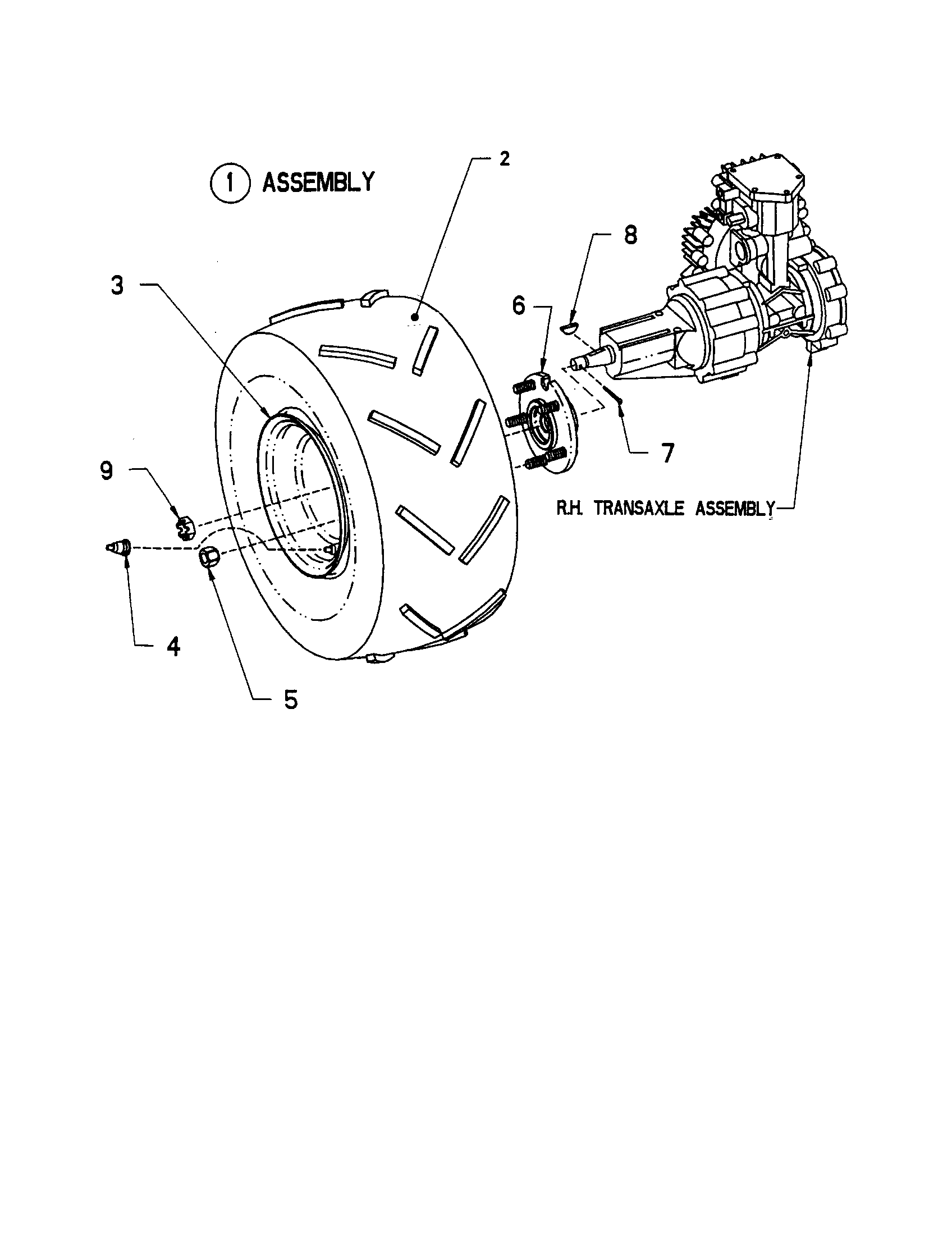 snapper model zf2300gku lawn, riding mower rear engine genuine partsWiring Gas Only Diagram Parts List For Model Zf2300gku Snapper #11
