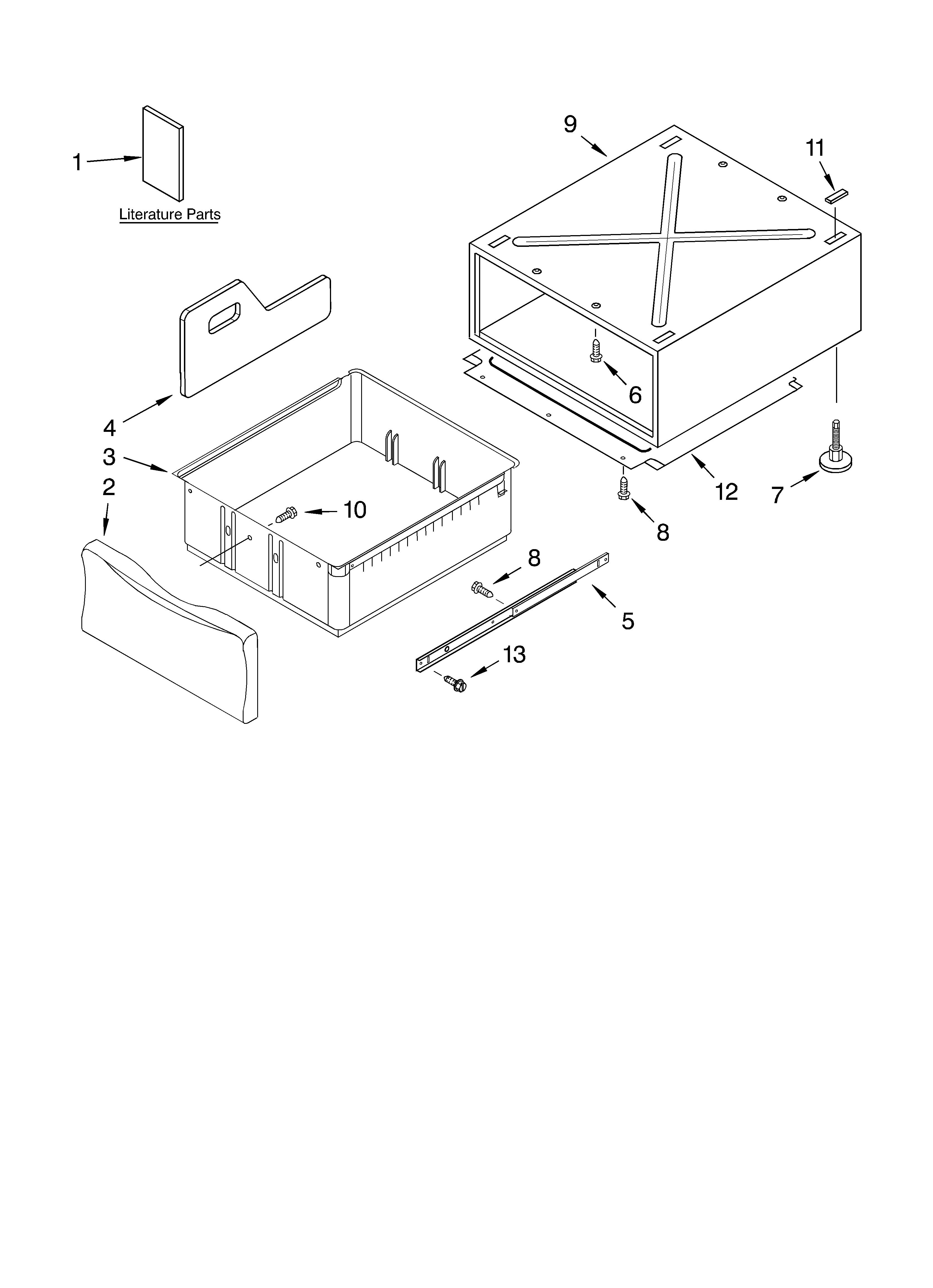 whirlpool residential dryer parts model gew9200lw1 sears pedestal part