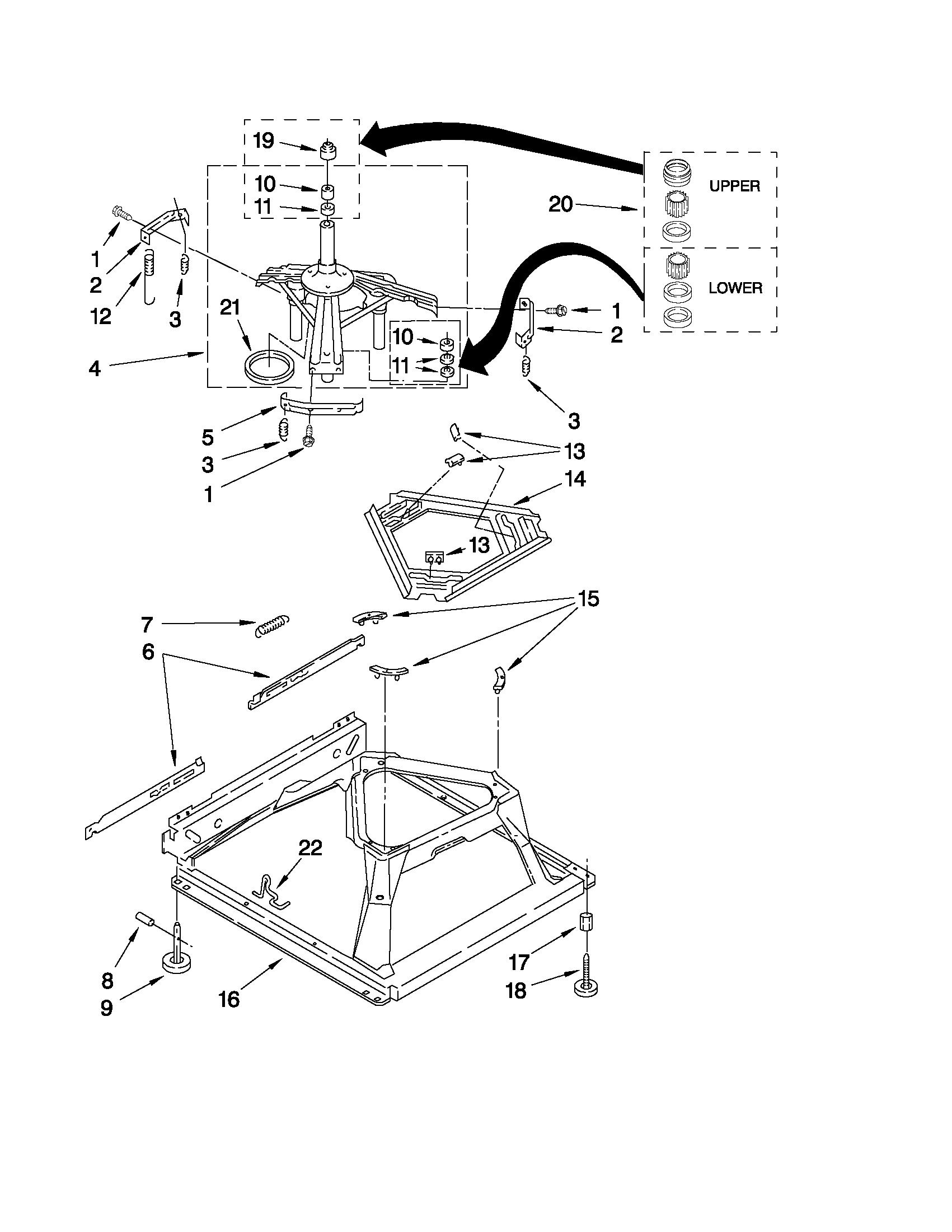 MAYTAG WASHER Parts | Model mvwc300vw1 | Sears PartsDirect
