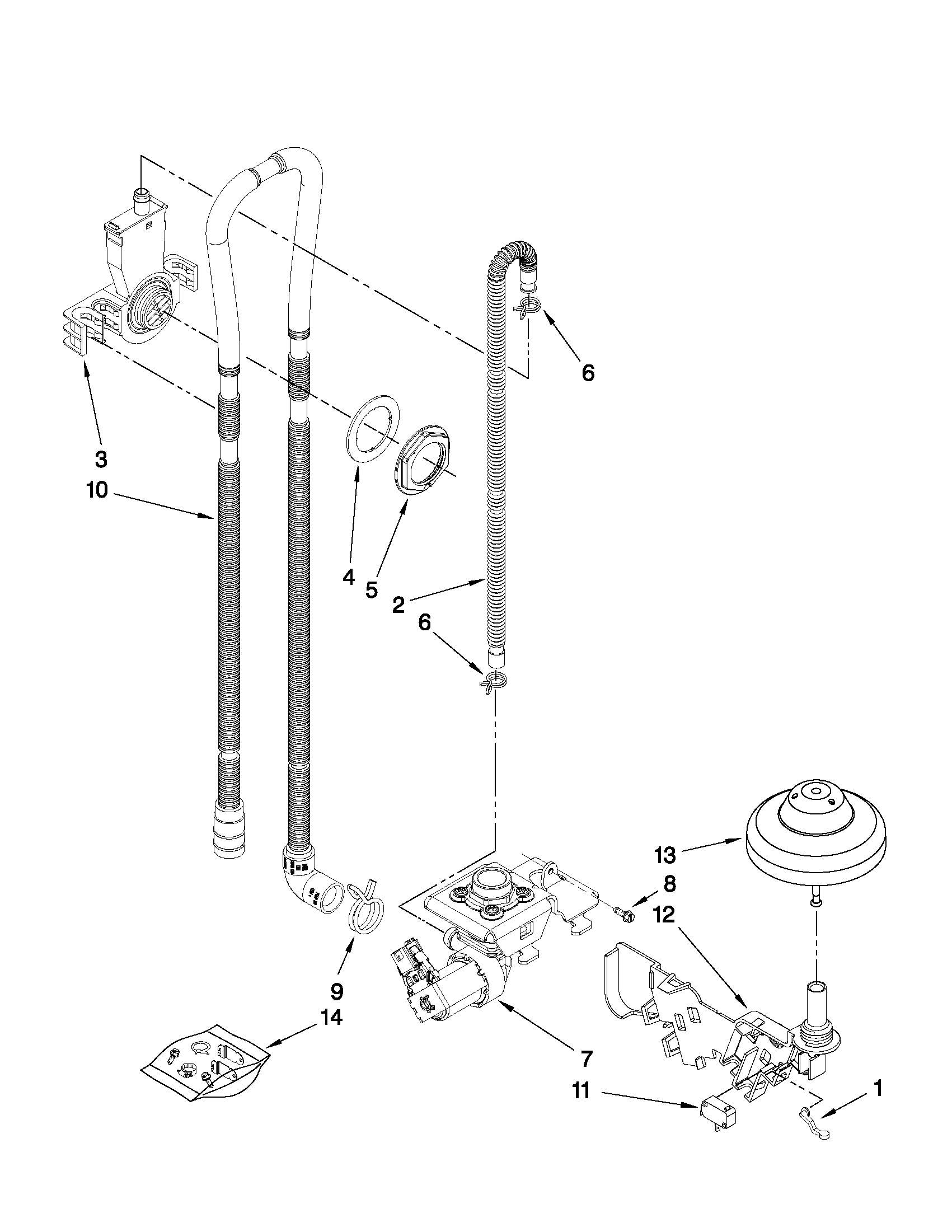 Maytag Undercounter Dishwasher Parts Model Mdbh969aws1