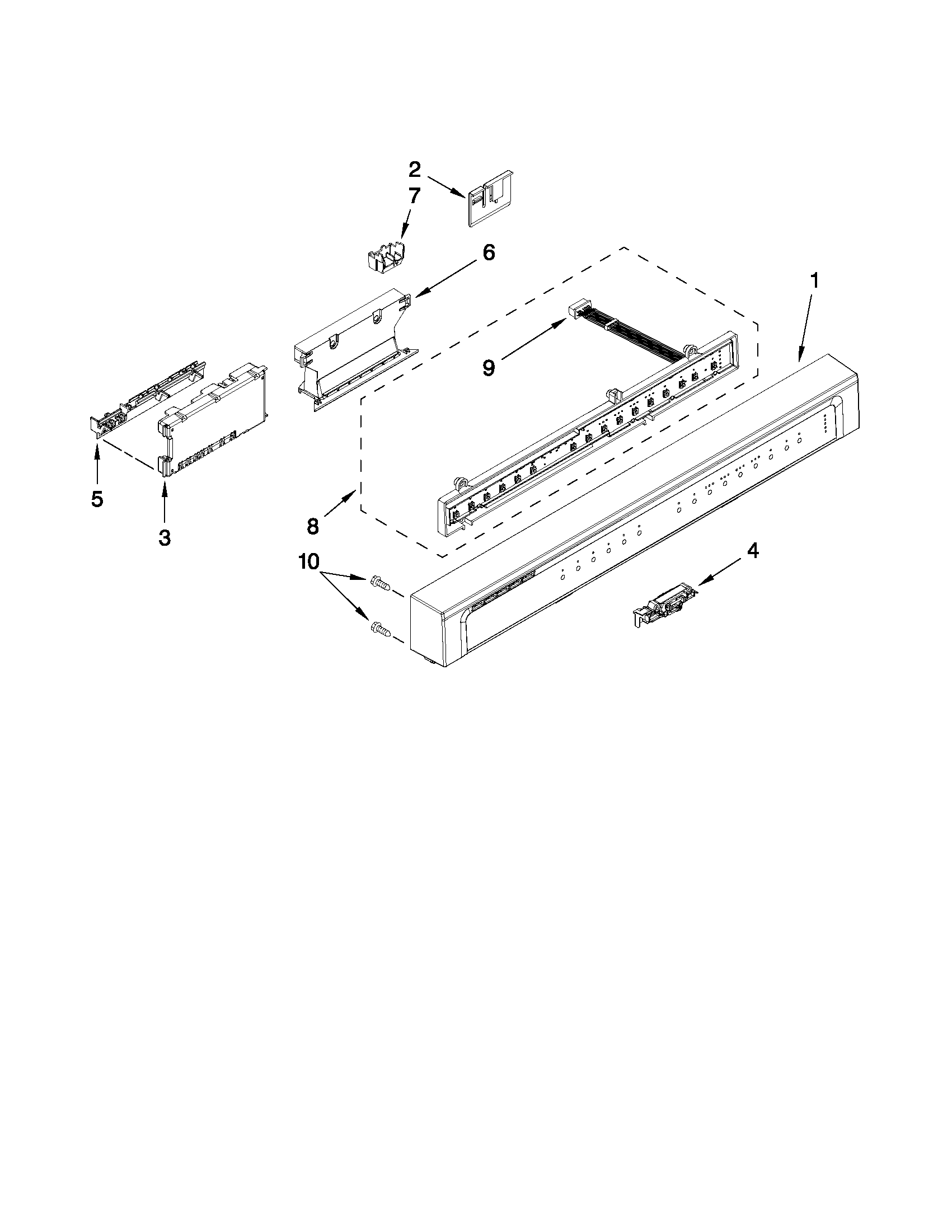 whirlpool model wdf750sayb0 dishwasher genuine parts