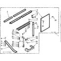 Kenmore 10673903 accessory kit parts diagram