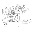 Kenmore 2538751831 ice maker parts diagram
