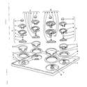 Kenmore 101918600 cook top section diagram