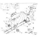 Garden Maid 1001A replacement parts diagram