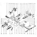 Emco MAXIMAT V10-P apron assembly diagram