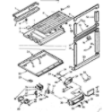 Kenmore 1067637261 breaker and partition parts diagram