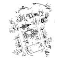 Kenmore 10085101 internal machine parts diagram