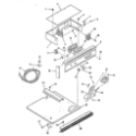 Kenmore 2784288894 control panel section diagram