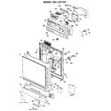 Kenmore 3631441191 escutcheon and door diagram