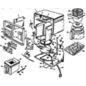 Black & Decker SDC3AG-TYPE1 coffeemaker diagram