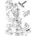 Craftsman 917259572 mower deck diagram