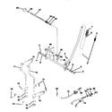 Craftsman 917259567 mower lift diagram